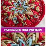 Patchwork Flat Star Ornament for Christmas DIY Tutorial
