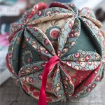 Russian Vintage Ball Ornament DIY Tutorial