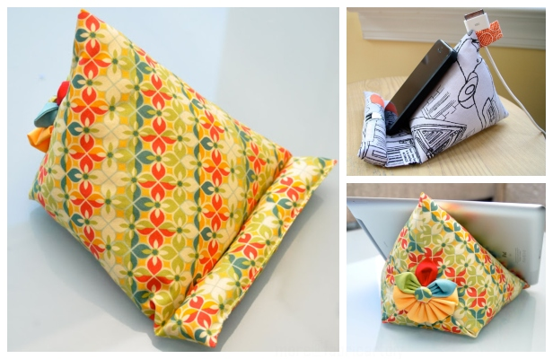 DIY IPAD Stand Free Sewing Patterns + Videoatterns ft
