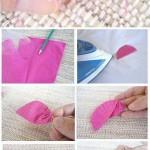 Easy Fabric Rose Bouquet DIY Tutorial
