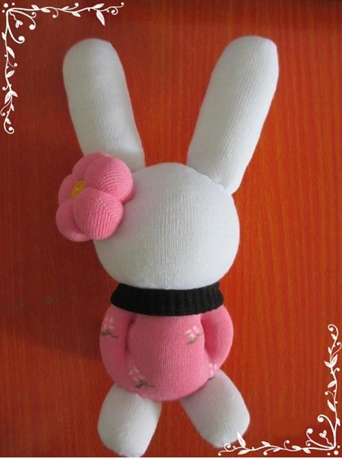 Movie Star Sock Bunny DIY Tutorial