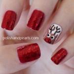Rudolph Nails Tutorial