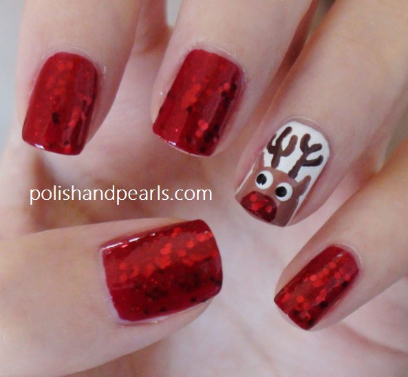 Rudolph Nails Tutorial