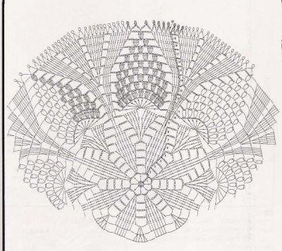 grape coaster pattern