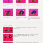 rainbow rose brooth tutorial