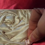satin cushion tutorial