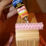wood stick jewlery box tutorials