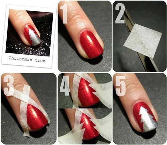 Make Gradient Mermaid Nails
