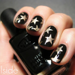 Starry Night Nails