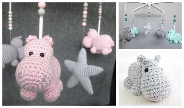 Hippo Amigurumi In Bikini - Free Crochet Pattern • Craft Passion | 361x616