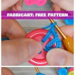 Crochet Button Flower Free Pattern VideoTutorial