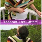 Crochet Scrap Yarn Shawl Free Pattern