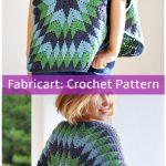 Crochet Star Over Poncho Pattern