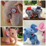 DIY Baby Elephant Crochet Free Pattern Roundup