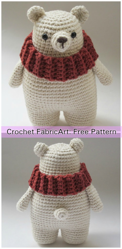 Baby Knitting Patterns Amigurumi Crochet Sleepy Bear Free Pattern ... | 1016x500