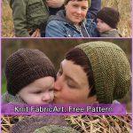 Knit Barley Beanie Hat Free Knitting Pattern