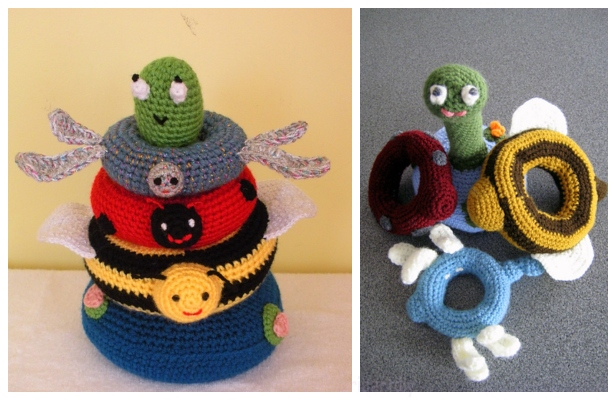 Crochet Pond Friends Stacking Toy Free Crochet Pattern