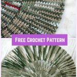Crochet Spiral Afghan Blanket Free Pattern