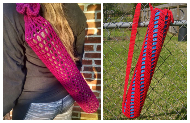 Crochet Yoga Mat Bag Free Patterns