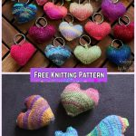 Knit Hearts to be my Valentine Free Knitting Pattern