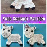 Crochet Rainbow Unicorn Applique Free Crochet Pattern – Video