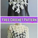 Star Stitch Chain Shawl Free Crochet Pattern - Video