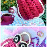 Lovely Crochet Owl Tea Cosies & Bag Crochet Pattern
