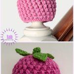 Crochet Baby Raspberry Hat Free Crochet Pattern
