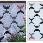 DIY Gone Batty Quilt Free Sew Pattern & Tutorial