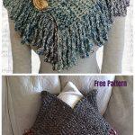 Super Easy Scarflette Crochet Free Pattern