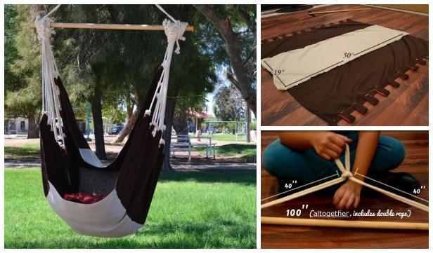 DIY Fabric Hammock Chair Sew Pattern & Tutorial