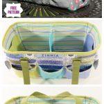 DIY Oslo Craft Bag Sew Pattern & Tutorial - Video