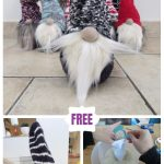 DIY Christmas Sock Gnome Doll Sew Pattern & Tutorial