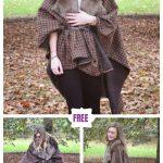 Easy Handmade Blanket Coat Free Sewing Pattern & Tutorial
