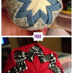 No-Sew Quilted Christmas Ornaments DIY Tutorial