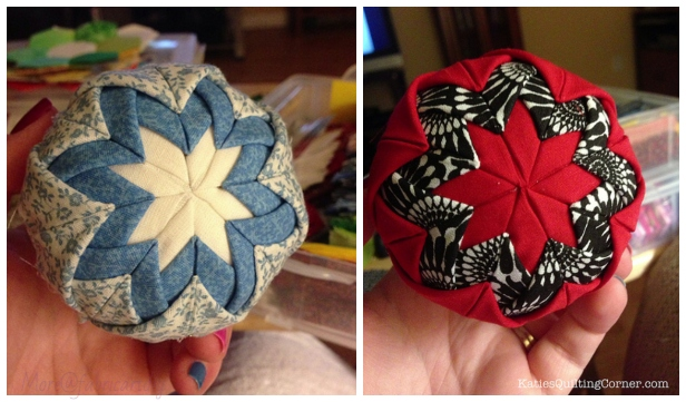 Quilted Christmas Ornaments.No Sew Quilted Christmas Ornaments Diy Tutorial