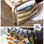 DIY Zipper Card Pouch Free Sew Pattern & Tutorial