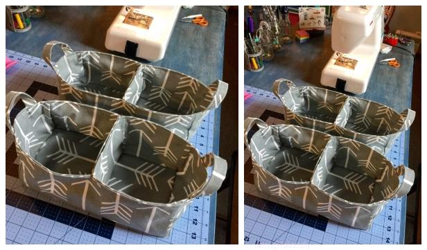 DIY Divided Organizer Caddy Free Sew Pattern – Video