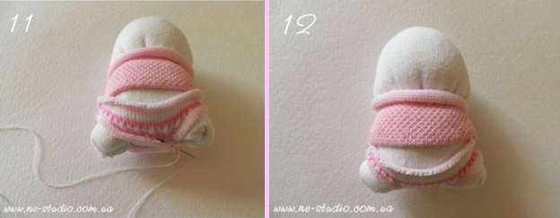 Sock Bunny Couple DIY Tutorial