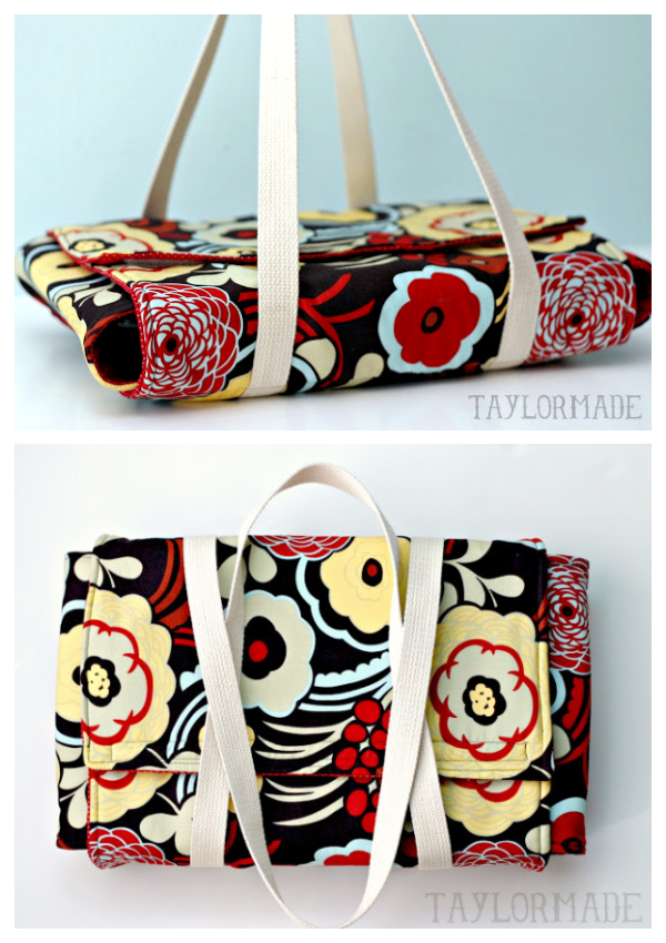 DIY Fabric Casserole Carrier Free Sewing Pattern & Tutorial