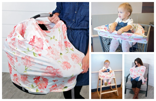 7-in-1 Car Seat Cover Free Sewing Pattern & Tutorial