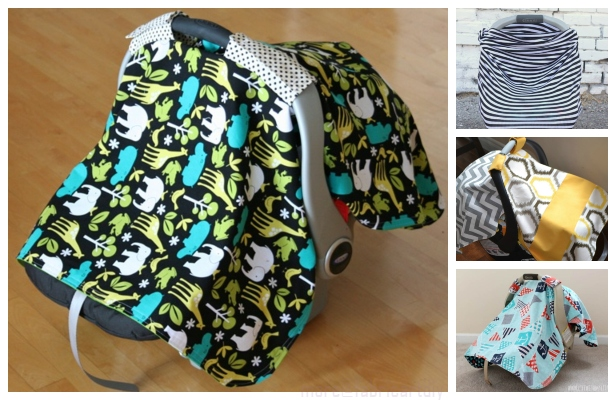 DIY Car Seat Cover Free Sewing Patterns & Tutorials