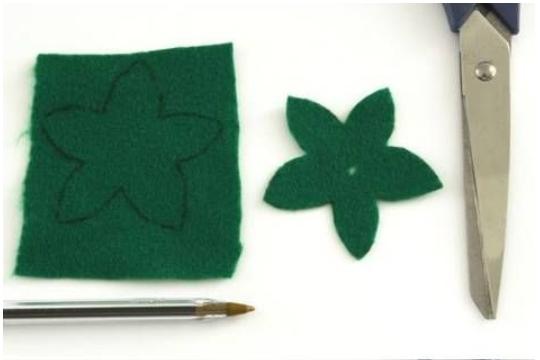 Easy Fabric Rose Bouquet DIY Tutorials