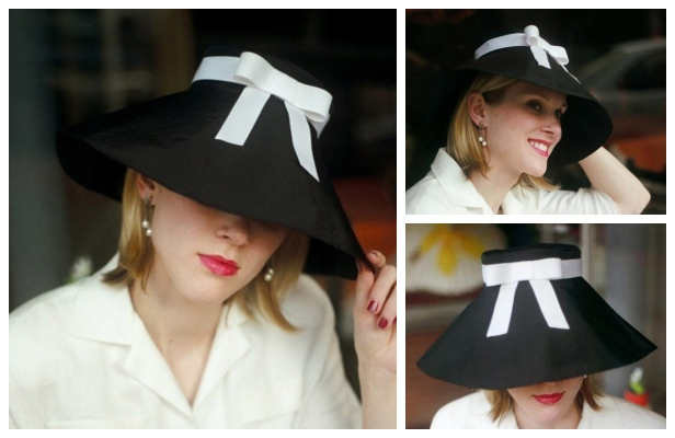 Vintage Funnel Hat Free Sewing Pattern
