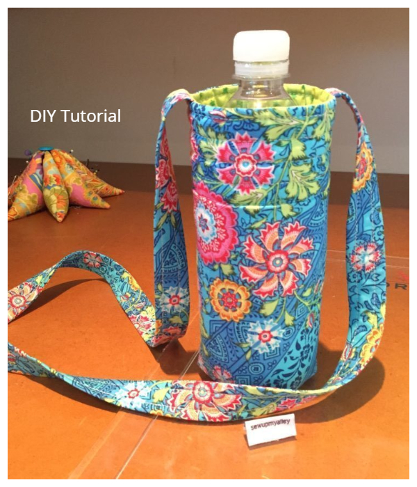 DIY Water Bottle Holder Free Sewing Patterns &Tutorials