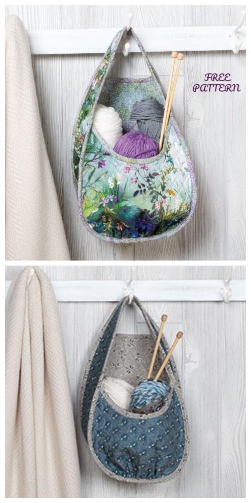 DIY Best Nest Organizer Basket Free Sewing Pattern + Video