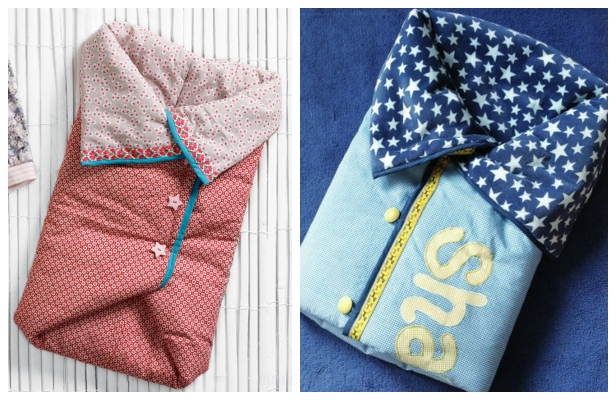 DIY Baby Sleeping Bag Free Sewing Pattern