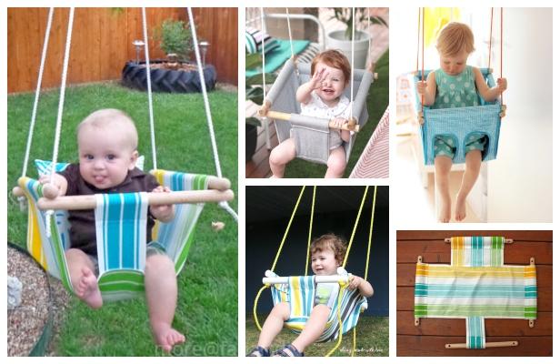 DIY Baby Swing Free Sewing Patterns & Tutorials