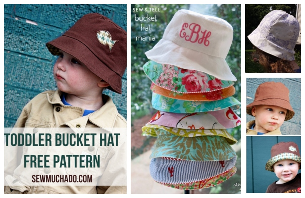 DIY Reversible Bucket Sun Hat Free Sewing Pattern