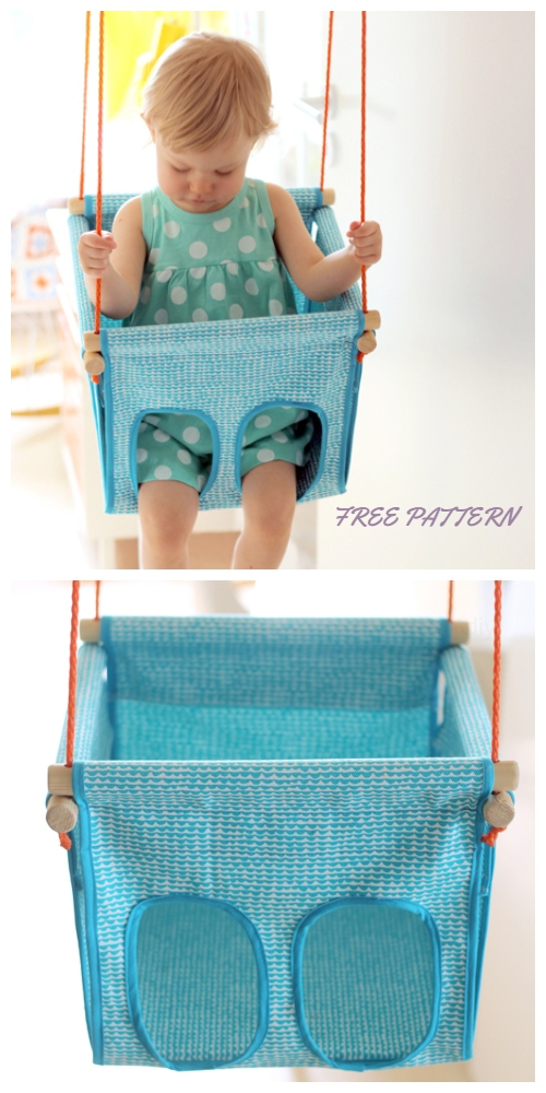 DIY Security Baby/Kids Swing Free Sewing Patterns & Tutorials